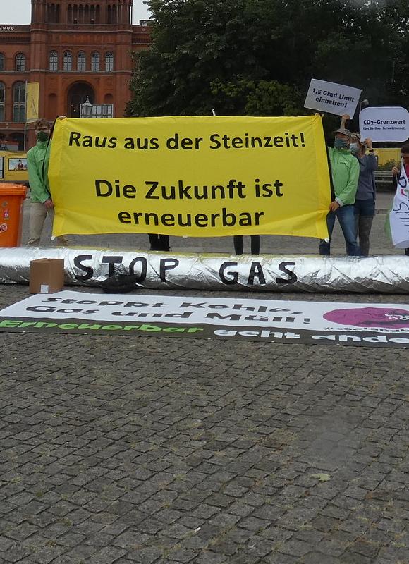 Raus aus dem Erdgas